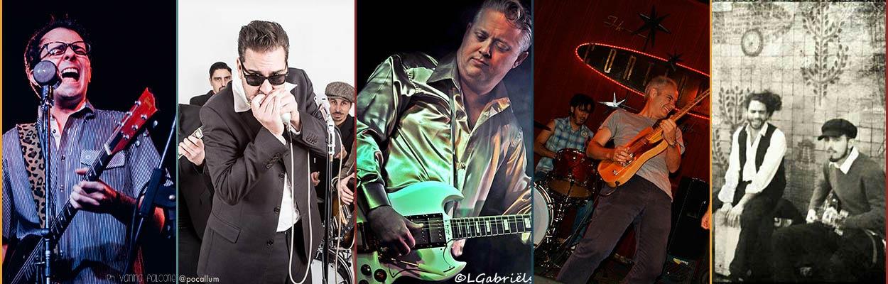 Artistas del II Festival de Blues de Valencia 2017